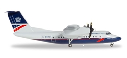 British Airways Express De Havilland Canada DCH-7 G-BRYD (1:200), Herpa 1:200 Scale Diecast Airliners Item Number HE558112