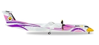 "Nok Air Bombardier Q400 ""Nok Anna"" HS-DQB (1:200), Herpa 1:200 Scale Diecast Airliners Item Number HE558136"