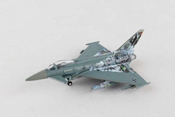"Luftwaffe Eurofighter Typhoon, TaktLwG 74 ""Bavarian Tigers - Cyber Tiger"" (1:200), Herpa 1:200 Scale Diecast Airliners Item Number HE558327"