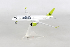 Air Baltic Bombardier CS300 - YL-CSB (1:200) - Preorder item, order now for future delivery, Herpa 1:200 Scale Diecast Airliners Item Number HE558457-001