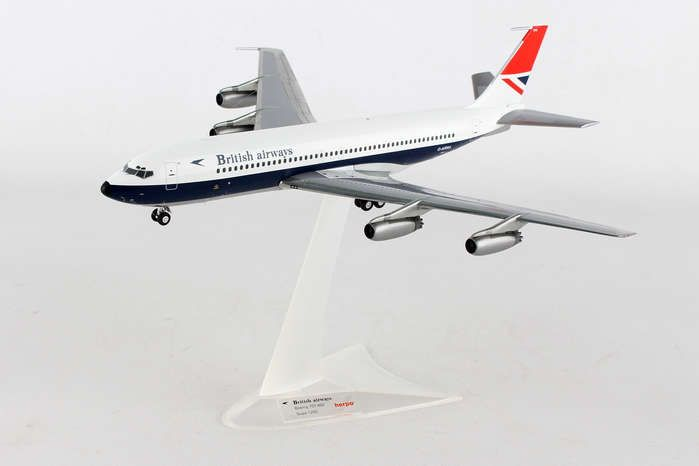 British 707-400 G-ARRA (1:200), Herpa 1:200 Scale Diecast Airliners Item Number HE558464