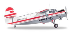 Aeroflot Polar Aviation AN-2 CCCP-32338 (1:200), Herpa 1:200 Scale Diecast Airliners Item Number HE558587