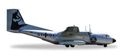 "Luftwaffe C-160 (1:200) LTG 61 ""60th Anniversary"" 5101, Herpa 1:200 Scale Diecast Airliners Item Number HE558655"