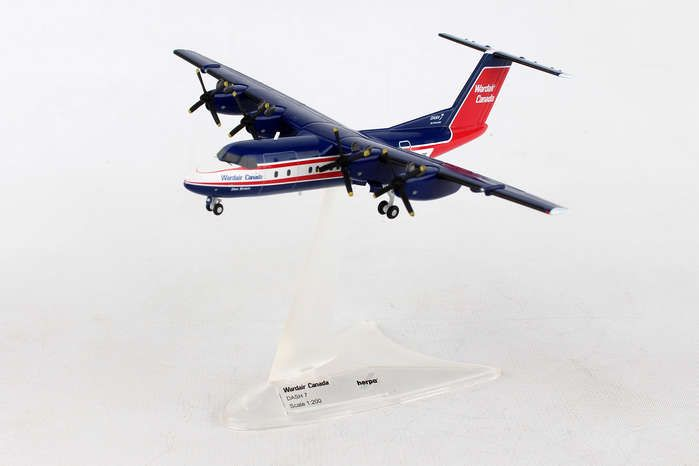 Wardair Canada De Havilland Canada DHC-7 C-GXVF (1:200), Herpa 1:200 Scale Diecast Airliners Item Number HE558792