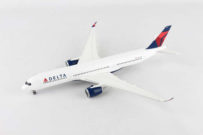 Delta Air Lines Airbus A350-900 XWB N501DN (1:200), Herpa 1:200 Scale Diecast Airliners Item Number HE558815
