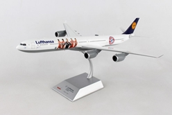 "Lufthansa Airbus A340-600 ""FC Bayern Audi Summer Tour China 2017"" (1:200) - Preorder item, order now for future delivery, Herpa 1:200 Scale Diecast Airliners Item Number HE558846"