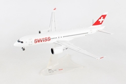 Swiss International Air Lines Bombardier CS300 - HB-JCB (1:200) - Preorder item, order now for future delivery, Herpa 1:200 Scale Diecast Airliners Item Number HE558952