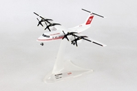 "Trans World Express De Havilland Canada DHC-7 ""Dash 7"" N173RA (1:200) - Preorder item, order now for future delivery, Herpa 1:200 Scale Diecast Airliners Item Number HE559041"