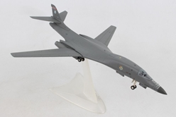 "U.S. Air Force Rockwell B-1B Lancer - Kansas ANG, 127th BS, 184th BW, McConnell AFB ""Wichita Intertribal Warrior Association"" (1:200), Herpa 1:200 Scale Diecast Airliners Item Number HE559263"