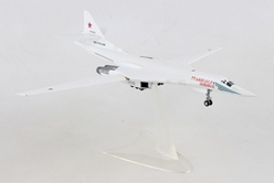 "Russian Air Force Tupolev TU-160 ""Blackjack/White Swan"" - 6950th Guards Air Base, Engels-2 ""Alexander Novikov"" RF-94109/12 red, Herpa 1:200 Scale Diecast Airliners Item Number HE559287"