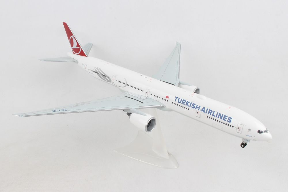 "Turkish Airlines Boeing 777-300ER, TC-LJB ""Ayasofya"" (1:200) - Preorder item, order now for future delivery, Herpa 1:200 Scale Diecast Airliners Item Number HE559379"