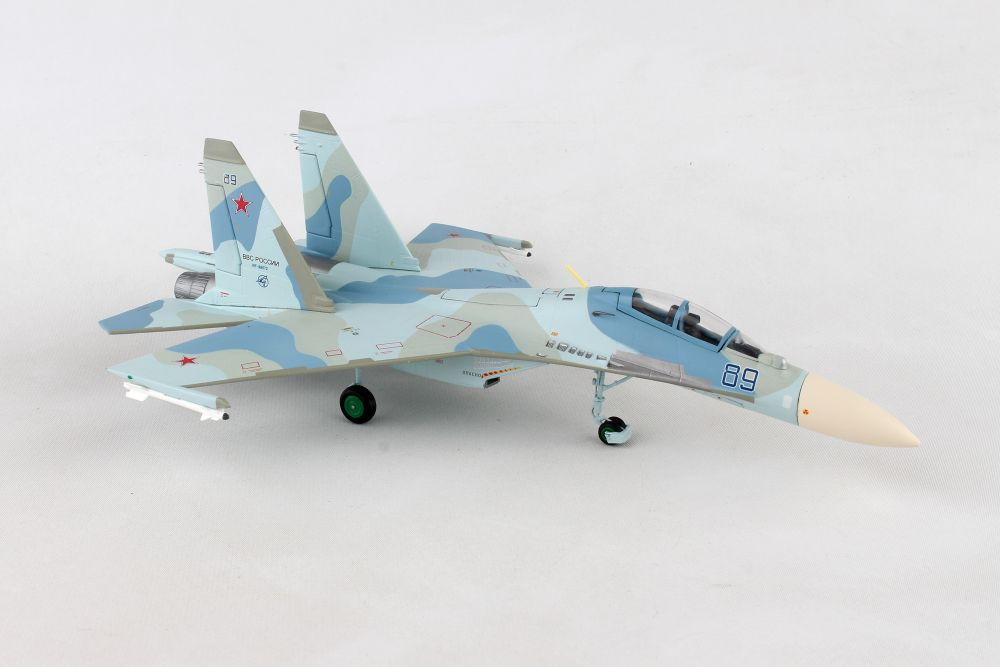 Russian Air Force Sukhoi SU-30M2, 27th Mixed Aviation Division, 38th Fighter Regiment, Belbek AB - RF-95072 / 89 blue (1:72), Herpa 1:72 Item Number HE580311