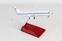ROCAF 737-800W W/wood Stand/GEAR #3701 1/200