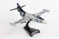 F9F Panther Silver/Black (1:100)