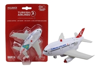 Turkish Airlines Pullback W/Light & Sound