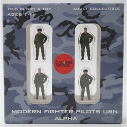 USN, 4-Piece Pilot Figure Set (1:72)