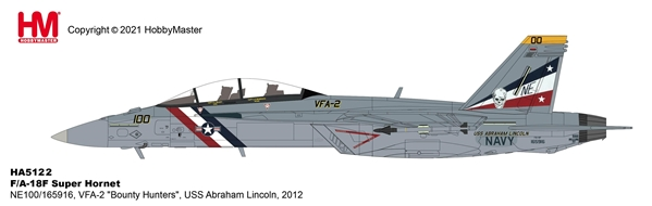 "F/A-18F Super Hornet1/72 VFA-2 ""Bounty Hunters"", USS Abraham Lincoln, 2012 (1:72)"