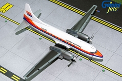 United Express CV-580 (Saul Bass Livery) N73126 (1:200) by GeminiJets 200 Diecast Airliners Model number G2UAL318