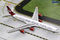 "Virgin Atlantic A340-600 ""A Big Thank You"" G-VNAP (1:200) , GeminiJets 200 Diecast Airliners, Item Number G2VIR732"