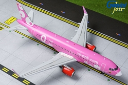Vivaair A320-200 (Pink Livery) HK-5273 (1:200) by GeminiJets 200 Diecast Airliners Model number G2VVC823