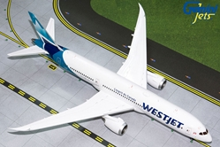 Westjet B787-9 (New Livery) C-GUDH (1:200) by GeminiJets 200 Diecast Airliners Model number G2WJA826