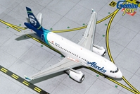 Alaska A319 N530VA (1:400) by GeminiJets 400 Diecast Airliners Model number GJASA1851