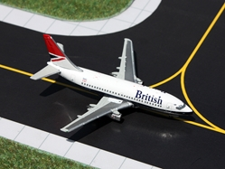 British Airways 737-200 Negis Colors G-BGDS (1:400), GeminiJets 400 Diecast Airliners Item Number GJBAW136
