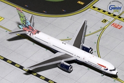 "British Airways B757-200 ""Animal & Trees"" G-CPEL (1:400), GeminiJets 400 Diecast Airliners, Item Number GJBAW1695"