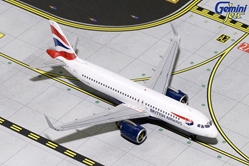 British Airways A320NEO G-TTNA (1:400), GeminiJets 400 Diecast Airliners Item Number GJBAW1786