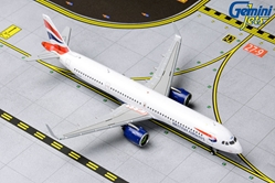 British Airways A321neo G-NEOP (1:400) by GeminiJets 400 Diecast Airliners Item Number: GJBAW1836