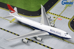 British Airways 747-400 (1:400) by GeminiJets, Item Number: GJBAW1858