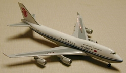 Air China B747-400 (1:400), GeminiJets 400 Diecast Airliners, Item Number GJCCA005
