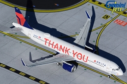 Delta Air Lines A321  N391DN ?Thank You? (1:400)