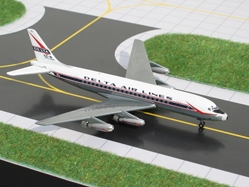 Delta DC-8-11 (1959 Delivery Colors) (1:400), GeminiJets 400 Diecast Airliners, Item Number GJDAL367