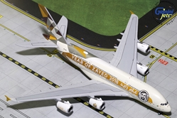 "Etihad A380-800 ""Year of Zayed, 2018"" A6-APH (1:400), GeminiJets 400 Diecast Airliners, GJETD1813"