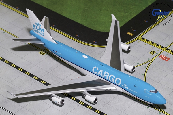 "KLM Cargo B747-400F ""New Livery"" PH-CKA (1:400), GeminiJets 400 Diecast Airliners, GJKLM1827"