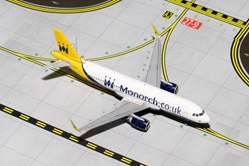 Monarch A320 with Sharklets G-ZBAA (1:400), GeminiJets 400 Diecast Airliners Item Number GJMON1430
