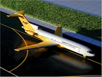 Northeast B727-200 (Yellowbird) (1:400), GeminiJets 400 Diecast Airliners, Item Number GJNEA141