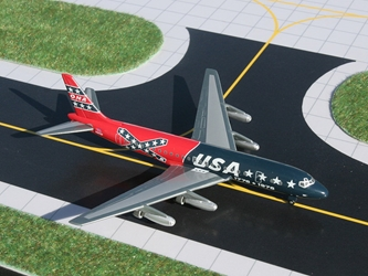 ONA DC-8-21, Confederate Livery (1:400), GeminiJets 400 Diecast Airliners, Item Number GJONA563