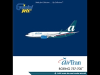 AirTran 737-700W N331AT (1:400), GeminiJets 400 Diecast Airliners Item Number GJTRS1387