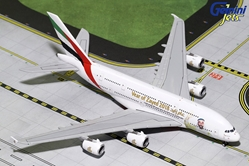 "Emirates A380-800 A6-EUZ ""Year of Zayed 2018"" (1:400), GeminiJets 400 Diecast Airliners Item Number GJUAE1747"