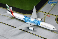 "Emirates B777-300ER blue ""Expo 2020"" A6-EPK (1:400) by GeminiJets 400 Diecast Airliners"