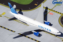 United Airlines B777-200 N210UA new livery (1:400)