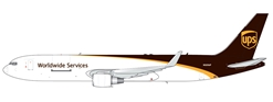 UPS B767-300(W) New Livery N320UP (1:400), GeminiJets 400 Diecast Airliners Item Number GJUPS1664
