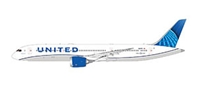 United B787-9 2019 livery (1:400) by GeminiJets 400 Diecast Airliners