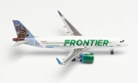 "Frontier Airlines Airbus A320NEO - N301FR ""WILBUR THE WHITETAIL"" (1:500)"