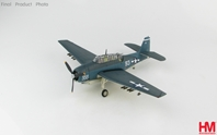 TBF-1C Avenger VT-15, USS Essex, Battle of Leyte, Nov 1944 (1:72) by Hobby Master Diecast Airplanes Item Number HA1222