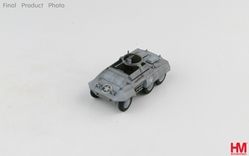 M20 Light Armored Car Die Cast Model Ardennes Forest, Dec 1944 (1:72) by Hobby Master Diecast Military Armor Item Number HG3813