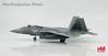 "F-22A Raptor Die Cast Model Rapter 01, AF 91-4001 ""Spirit of America"" (1:72)"