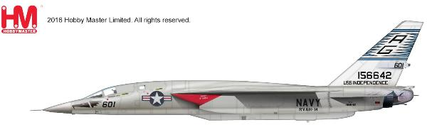 "RA-5C Vigilante, 156642, ""Eagle Eyes"" USS Independence, 1970s (1:72), Hobby Master Diecast Airplanes Item Number HA4704"